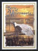 Micronesia 2001 Birds Of Micronesia, Bird Of Paradise MS MUH - Micronesia