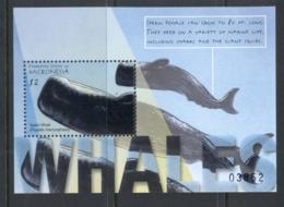 Micronesia 2001 Whales MS MUH - Micronesia