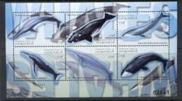 Micronesia 2001 Whales Sheetlet MUH - Micronesia