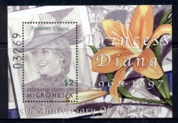 Micronesia 2002 Princess Diana In Memoriam 5th Anniv MS MUH - Micronesia