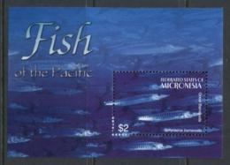 Micronesia 2004 Fish & Coral Of The Pacific MS MUH - Micronesia