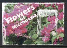 Micronesia 2007 Flowers Of Micronesia MS MUH - Micronesia