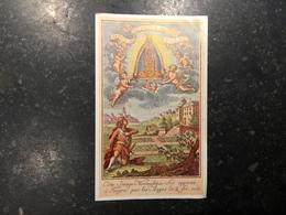 18ZA - Oraison Sainte Vierge De Tongre - Devotieprenten