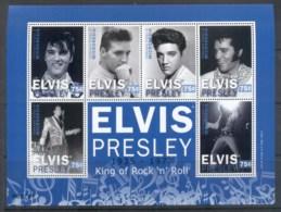 Micronesia 2010 Elvis Presley 75th Birthday MS MUH - Micronesia