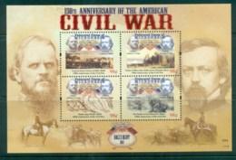 Micronesia 2011 Ball's Bluff, Civil War 150th Anniv. MS MUH Lot81502 - Micronesia