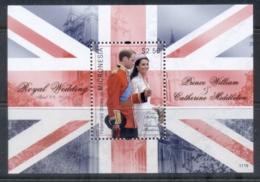 Micronesia 2011 Royal Wedding William & Kate #1119 $2.50 MS MUH - Micronesia