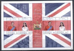 Micronesia 2011 Royal Wedding William & Kate #1119 98c MS MUH - Micronesia