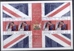 Micronesia 2011 Royal Wedding William & Kate #1120 98c MS MUH - Micronesia