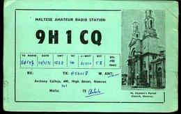 RA911 QSL  MALTA HAMRUN - Carte QSL