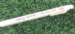 """Ancien Stylo Publicitaire """" Collector """" Sang Donné - Vie Sauvée - Stylos"""