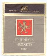 Etiket Etiquette - Vin - Wijn - Colli D'Imola Pignoletto - Fattoria Monticino Rosso - 2003 - Etiquettes