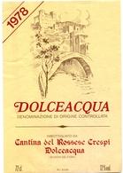 Etiket Etiquette - Vin - Wijn - Dolceacqua - 1978 - Etiquettes