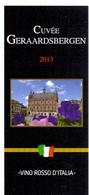 Etiket Etiquette - Vin - Wijn - Cuvée Geraardsbergen - 2013 - Etiquettes