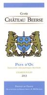 Etiket Etiquette - Vin - Wijn - Pays D'Oc - Chateau Beerse 2013 - Rouges
