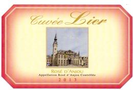 Etiket Etiquette - Vin - Wijn - Rosé D'Anjou - Cuvée Lier 2013 - Rosés