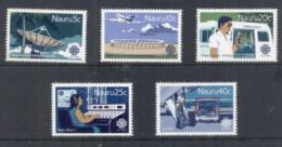 Nauru 1983 World Communications Year MUH - Nauru