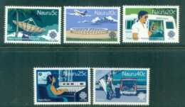 Nauru 1983 World Communications Year MUH Lot79531 - Nauru