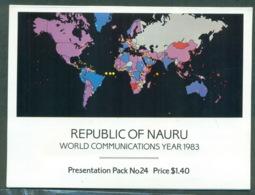 Nauru 1983 World Communications Year Stamp Pack POP Lot(xl)70787 - Nauru