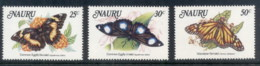 Nauru 1984 Insects, Local Butterflies MUH - Nauru
