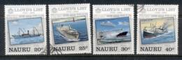 Nauru 1984 Lloyd's List Ships FU - Nauru