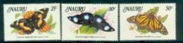 Nauru 1984 Local Butterflies MUH Lot79537 - Nauru