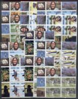 Nauru 1984 Pictorials Marginal Cnr Blks4 MUH - Nauru