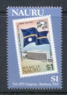 Nauru 1984 UPU Congress MUH - Nauru