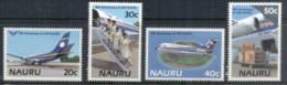 Nauru 1985 Air Nauru 15th Anniv., Planes MUH - Nauru