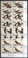 Nauru 1985 Audubon Birds Blk4 MUH - Nauru