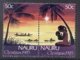 Nauru 1985 Xmas MUH - Nauru