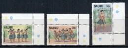 Nauru 1987 Tribal Dance MUH - Nauru