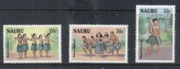 Nauru 1987 Tribal Dances MUH - Nauru