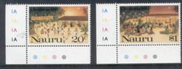 Nauru 1987 Xmas MUH - Nauru