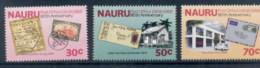 Nauru 1988 Nauru Post Office 80th Anniv. MUH - Nauru