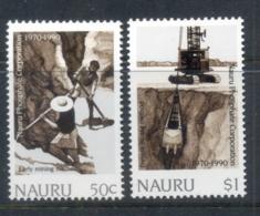 Nauru 1990 Nauru Phosphate Corp. 20th Anniv. MUH - Nauru