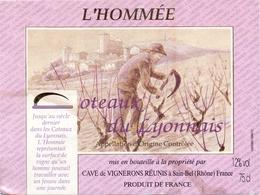 Etiket Etiquette - Vin - Wijn - L'Hommée - Coteaux Du Lyonnais - Sain Bel - Etiquettes