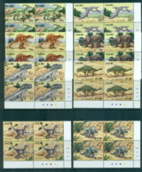 Nauru 2006 Prehistoric Animals, Dinosaurs Cnr. Blks 4 MUH Lot70849 - Nauru
