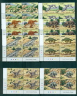 Nauru 2006 Prehistoric Animals, Dinosaurs Cnr. Blks 4 MUH Lot70850 - Nauru