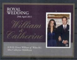 Nauru 2011 Royal Wedding William & Kate MS MUH - Nauru
