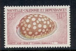 New Caledonia 1970 Shells 10f MLH - New Caledonia