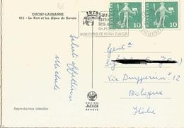 TIMBRO SU CARTOLINA: SAUVEZ LA NATURE 1965(165) - Postage Meters
