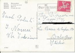 TIMBRO SU CARTOLINA: 67 EIDG. TORNFEST BERN 1967 (166) - Postage Meters