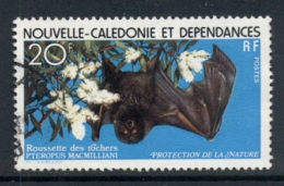 New Caledonia 1978 Nature Protection Flying Fox FU - New Caledonia