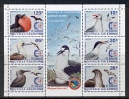 New Caledonia 1995 Seabirds, Singapore '95 MS MUH - New Caledonia
