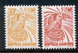 New Caledonia 1997 Bird Kagu 30,70f MUH - New Caledonia