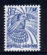 New Caledonia 1997 Bird Kagu 95f MUH - New Caledonia