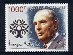 New Caledonia 1997 Francois Mitterand MUH - New Caledonia