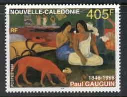 New Caledonia 1998 Painting, Paul Gaugin MUH - New Caledonia