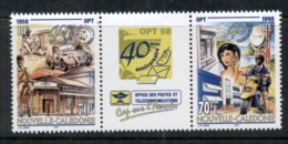 New Caledonia 1998 Post & Telecommunications Pr + Label MUH - New Caledonia