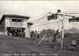 12169-SEGGIOVIA MONTE FARNO-GANDINO(BERGAMO)-1956-FG - Cartoline